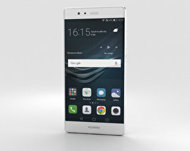 Huawei P9 Ceramic White 3D model