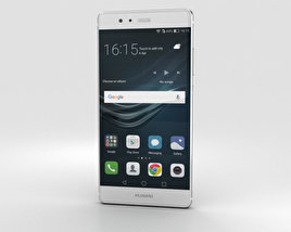 3D model of Huawei P9 Mystic Silver