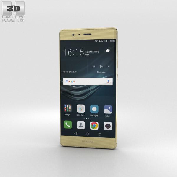 Huawei P9 Prestige Gold 3D model