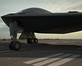 3D model of Northrop B-2 Spirit