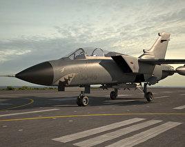 3D model of Panavia Tornado