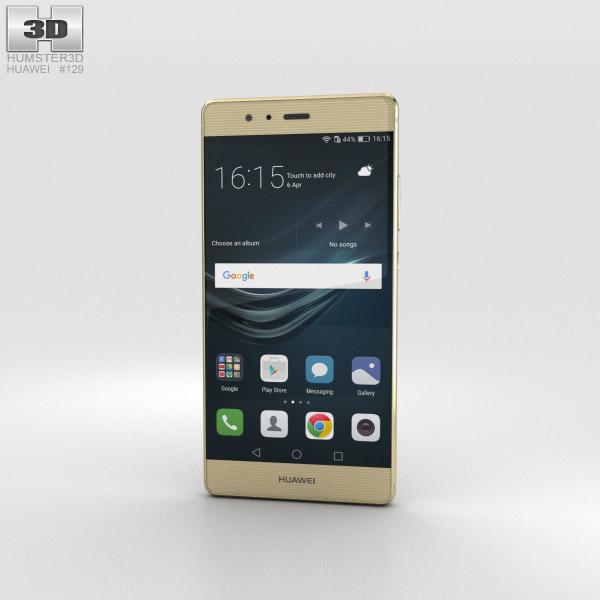 Huawei P9 Haze Gold 3D model