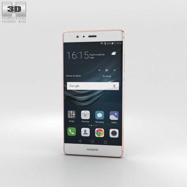Huawei P9 Rose Gold 3D model