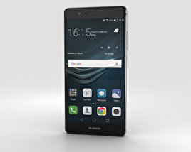 Huawei P9 Titanium Grey 3D model