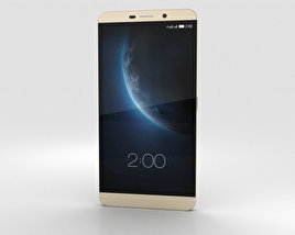 3D model of LeTV Le Max Pro Gold