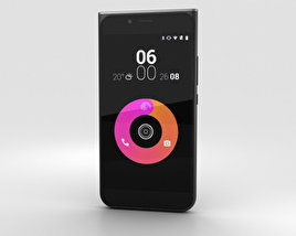 3D model of Obi Worldphone MV1 Black