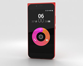 3D model of Obi Worldphone MV1 Red
