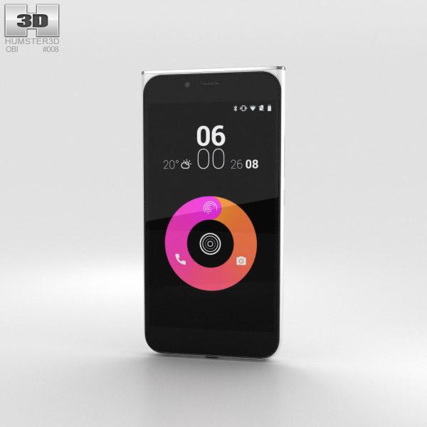 Obi Worldphone MV1 Weiß 3D-Modell