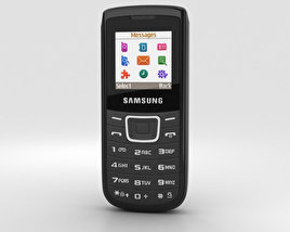 3D model of Samsung E1100 Black