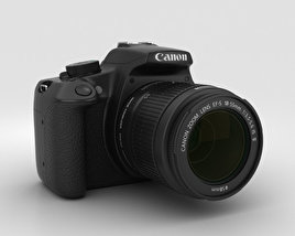 3D model of Canon EOS Rebel T5