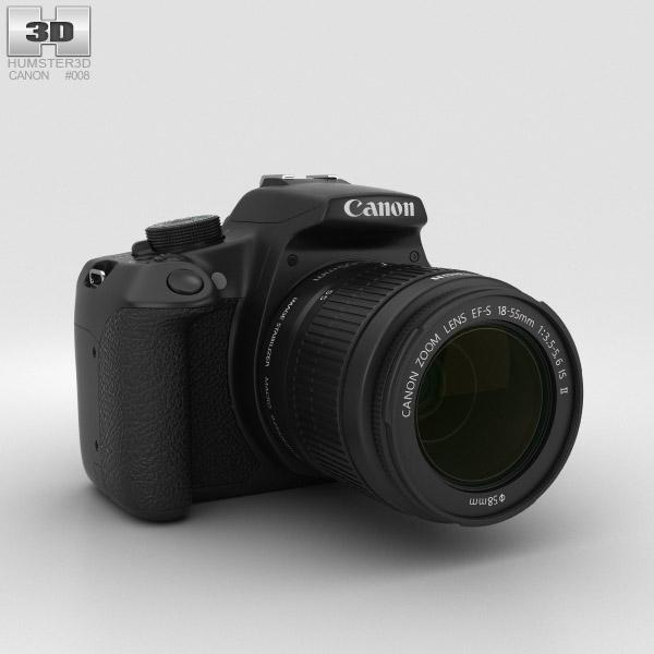 Canon EOS Rebel T5 3D model