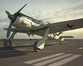 3D model of Focke-Wulf Fw 190
