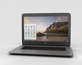 3D model of HP Chromebook 14 G4