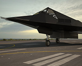 3D model of Lockheed F-117 Nighthawk