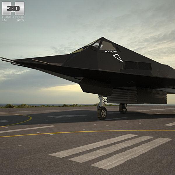 Lockheed F-117 Nighthawk 3D model