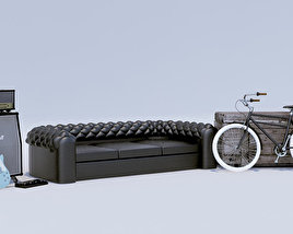 Guitar Amp Sofa Bicycle