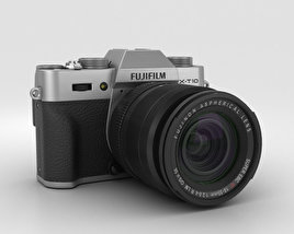 3D model of Fujifilm X-T10 Silver