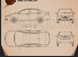 Honda City 2013 Blueprint