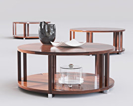 Bolier Atelier Round Cocktail Table