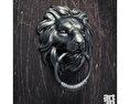 Lion Doorknocker Free 3D model