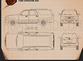 Ford Expedition 2012 Blueprint