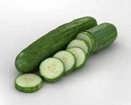 3D model of Cucumber