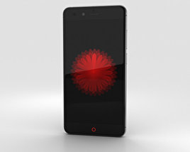 3D model of ZTE Nubia Z11 mini Black