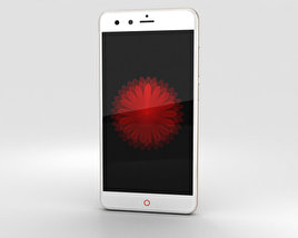 3D model of ZTE Nubia Z11 mini Gold