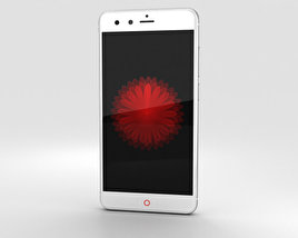 3D model of ZTE Nubia Z11 mini White