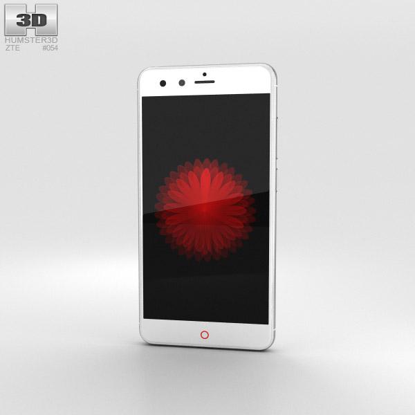 ZTE Nubia Z11 mini White 3D model