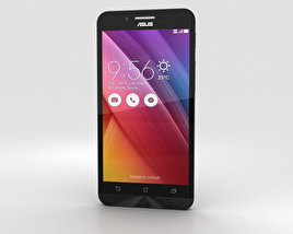 Asus Zenfone Go (ZC451TG) Charcoal Black 3D model