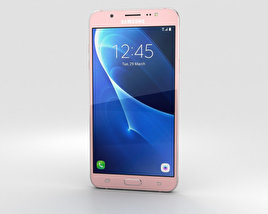 3D model of Samsung Galaxy J7 (2016) Rose Gold