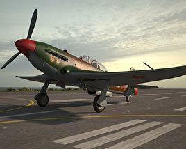 3D model of Yakovlev Yak-9