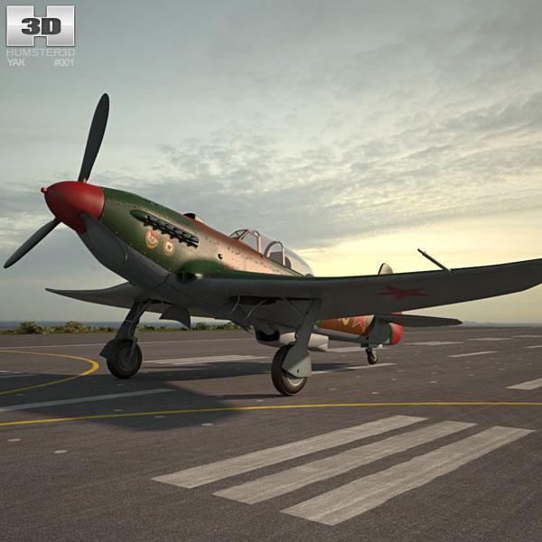 Yakovlev Yak-9 3D model