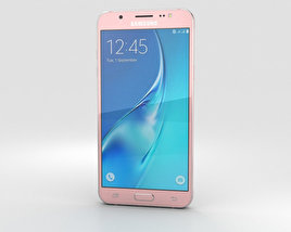 3D model of Samsung Galaxy J5 (2016) Rose Gold