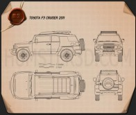 Toyota FJ Cruiser 2011 Blueprint