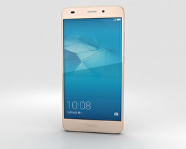 3D model of Huawei Honor 5c Gold