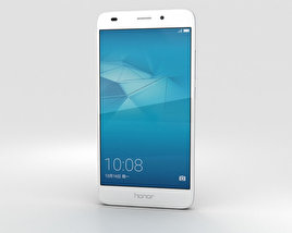 3D model of Huawei Honor 5c Silver