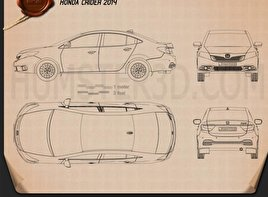 Honda Crider 2014 Blueprint