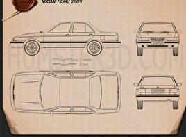 Nissan Tsuru 2004 Blueprint