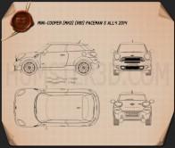 Mini Cooper Paceman S All4 2014 Blueprint