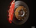 Lamborghini Reventon Wheel Free 3D model