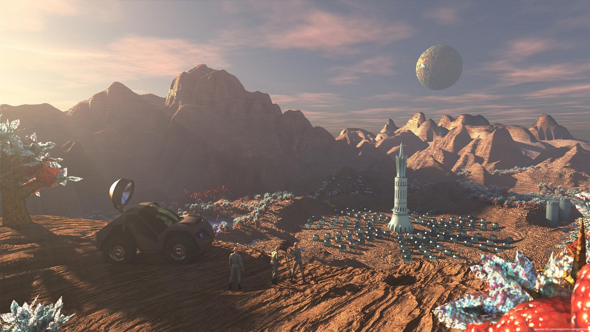 Eden 3d art