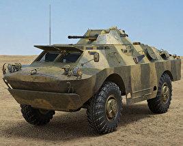 3D model of BRDM-2