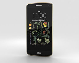 3D model of LG K5 Gold