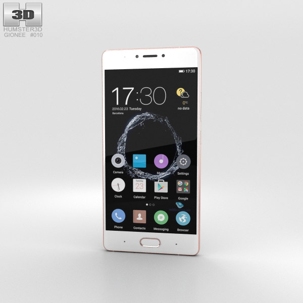 Gionee S8 Rose Gold 3D model