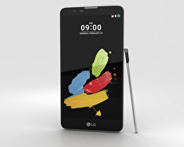 3D model of LG Stylus 2 Titanium