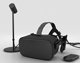 3D model of Oculus Rift