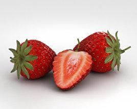 3D model of Strawberry