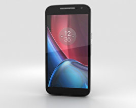 3D model of Motorola Moto G4 Black